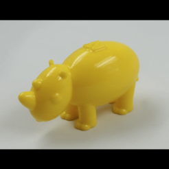 Download free 3D printing designs NT Rhinoceros (NT ANIMAL), NT_Animal
