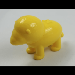 Download free 3D printer templates NT lion (NT ANIMAL), NT_Animal