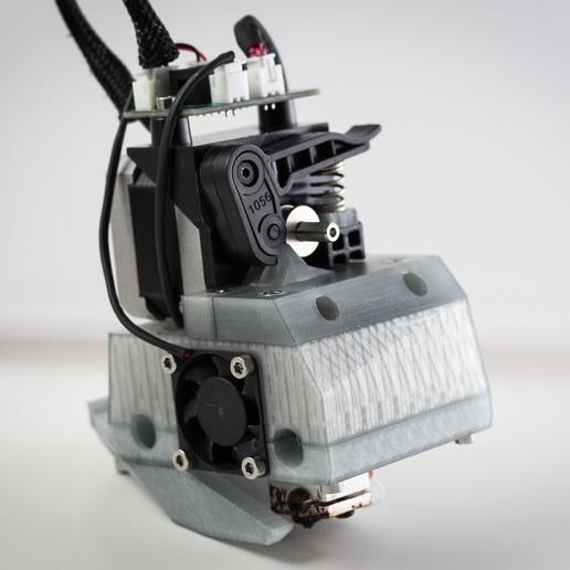 Télécharger objet 3D gratuit Monture basse pour grenouille poly (RigidBot E3D v6), WalterHsiao