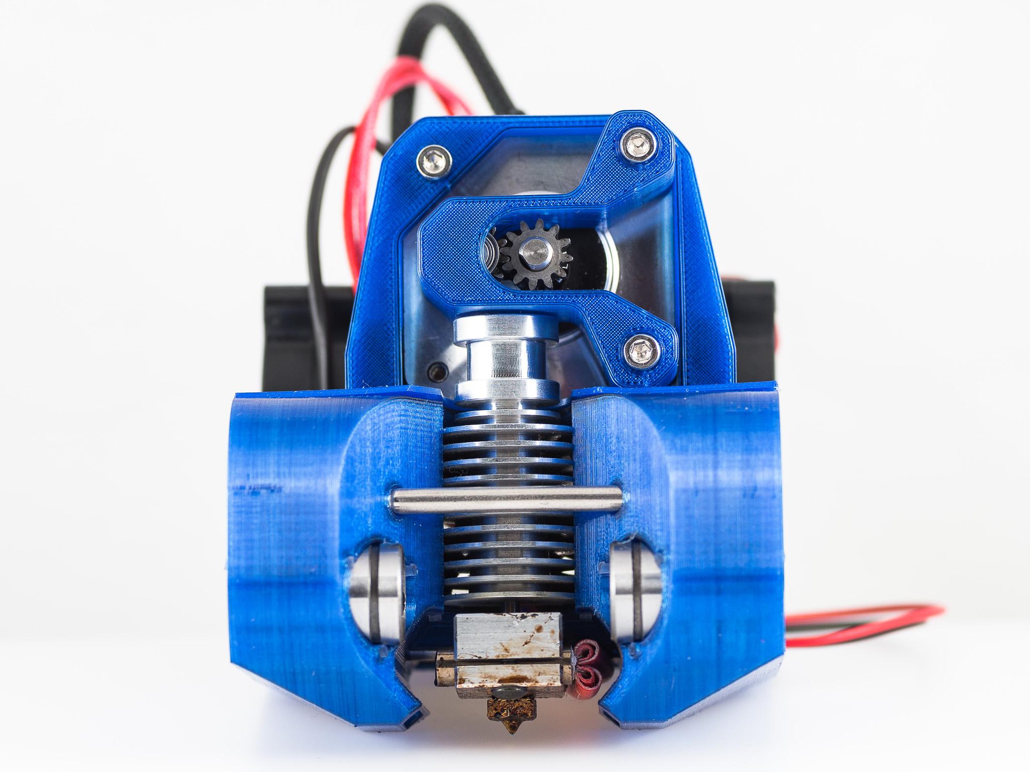 IMGP0341.jpg Télécharger fichier STL gratuit Montage de l'extrudeuse à réservoir (RigidBot, E3Dv6, Printrbot Gear Head) • Plan imprimable en 3D, WalterHsiao