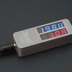Télécharger fichier STL gratuit Voltmètre / Ampèremètre - 1, WalterHsiao