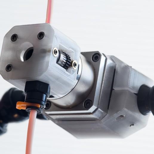 Download free 3D printing designs Bowden Extruder Mounting Blocks, WalterHsiao