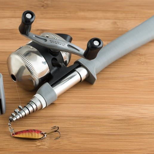 Télécharger plan imprimante 3D gatuit Poteau de pêche v2, WalterHsiao