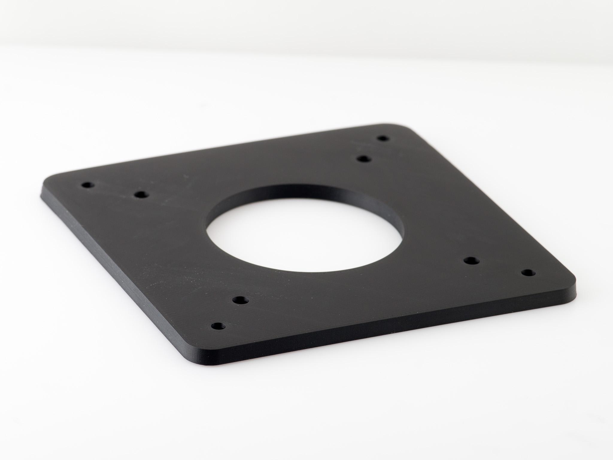 IMGP4755.jpg Télécharger fichier STL gratuit Adaptateur de plaque de moniteur Vesa 75mm à 100mm • Plan à imprimer en 3D, WalterHsiao