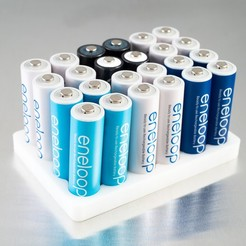 Download free 3D printing designs Customizable Battery Tray, WalterHsiao