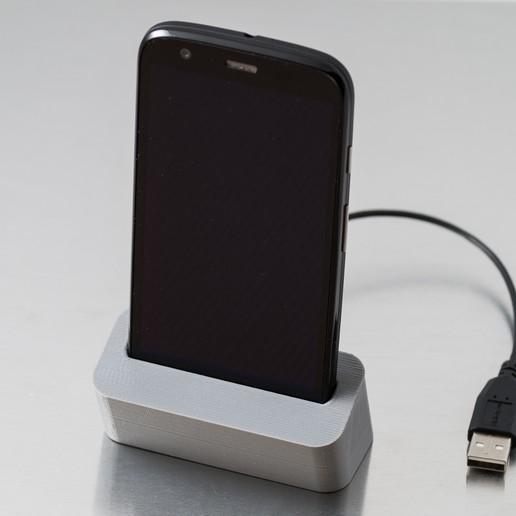 Télécharger modèle 3D gratuit Station d'accueil téléphonique (Moto G), WalterHsiao
