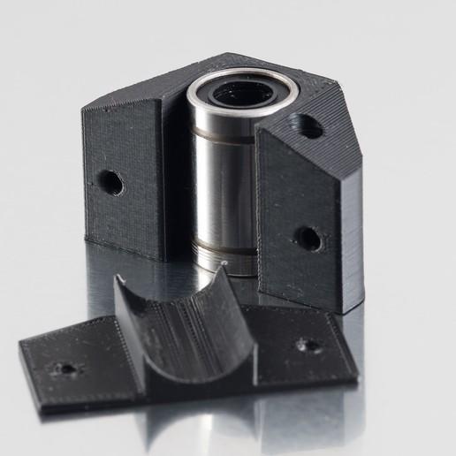 IMGP9753.jpg Télécharger fichier STL gratuit LM8UUU Support de palier • Modèle à imprimer en 3D, WalterHsiao