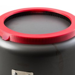 Download free STL file Heat Exchanger Cover (for Jetboil 3L Pot), WalterHsiao