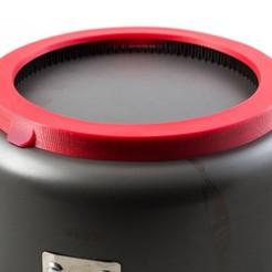 Télécharger plan imprimante 3D gatuit Couvercle de l'échangeur de chaleur (pour Jetboil 3L Pot), WalterHsiao