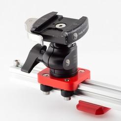 Imprimir en 3D gratis Placa deslizante de la cámara, WalterHsiao