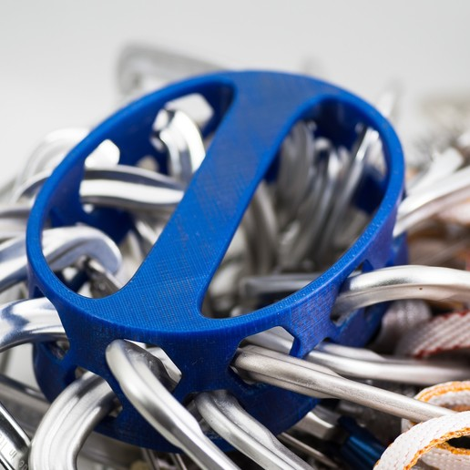 IMGP1554.jpg Download free STL file Carabiner Rack • 3D print model, WalterHsiao