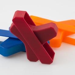 Télécharger fichier imprimante 3D gratuit Expérience de Fidget Spinner imprimée, WalterHsiao