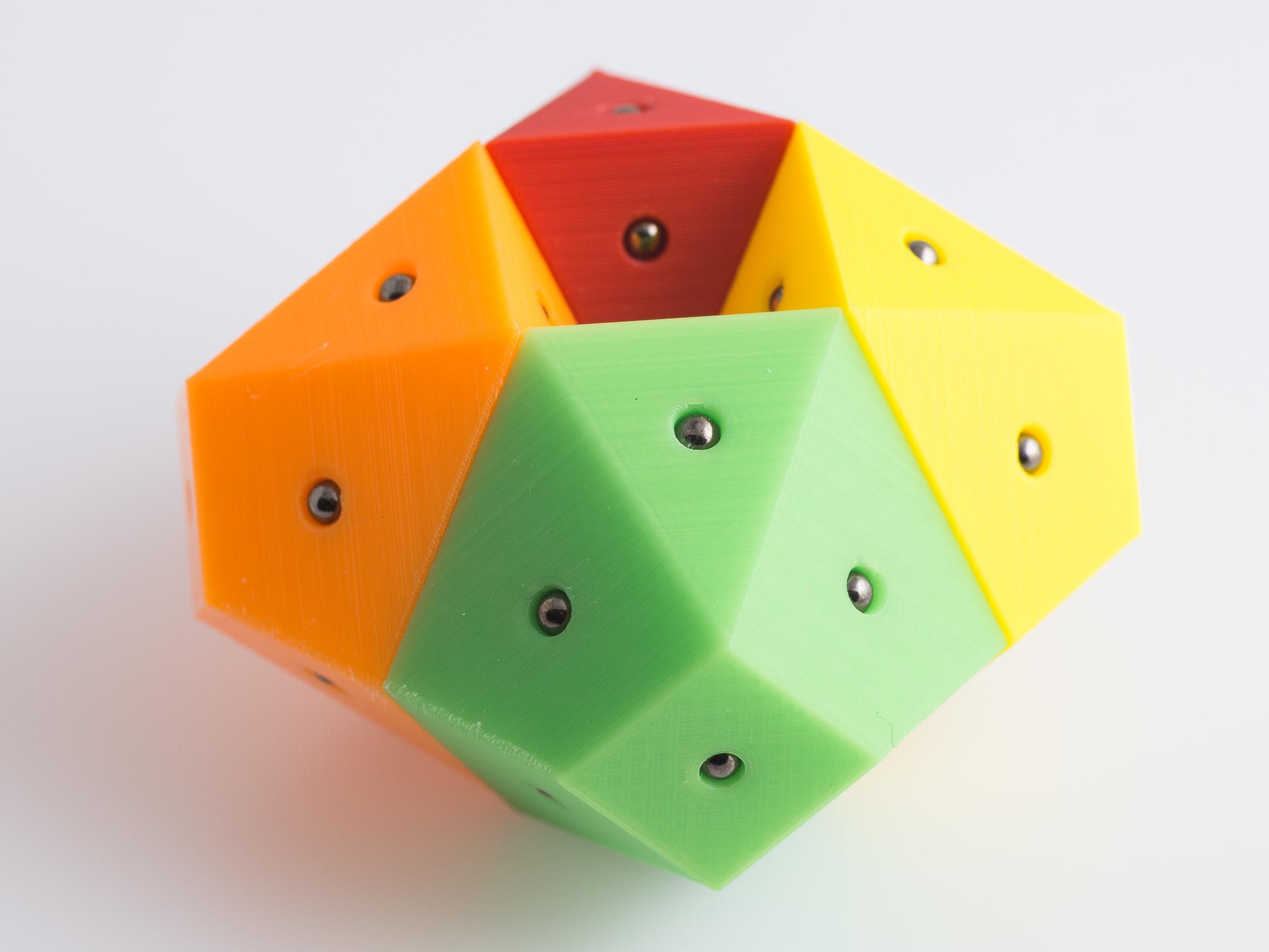 IMGP1667.jpg Télécharger fichier STL gratuit Hendécaèdres Bisymétriques Magnétiques Bisymétriques • Objet pour impression 3D, WalterHsiao