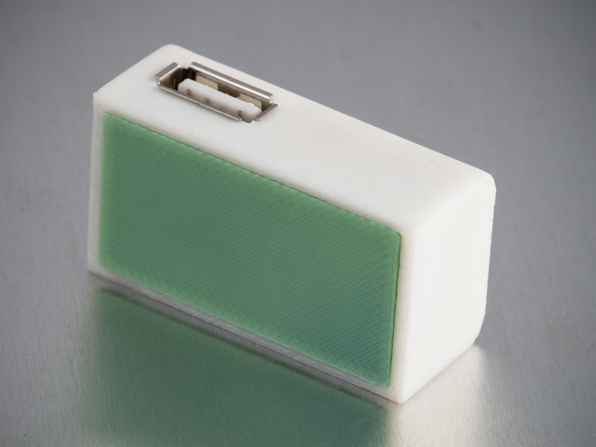 IMGP1063.jpg Télécharger fichier STL gratuit Chargeur USB D-Li90 • Plan imprimable en 3D, WalterHsiao