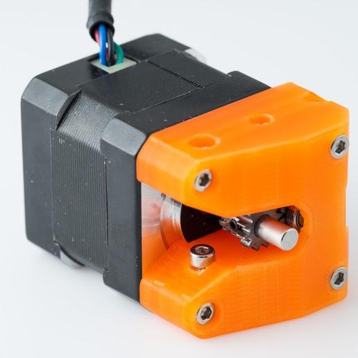 Télécharger fichier STL gratuit Boîtier d'engrenage d'extrudeuse (Printrbot Gear Head) • Objet pour impression 3D, WalterHsiao