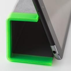 IMGP4089.jpg Télécharger fichier STL gratuit Smart Cover Support (pour Ipad Mini) • Design pour imprimante 3D, WalterHsiao