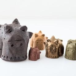 Download free 3D printing designs Spikey, WalterHsiao