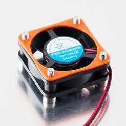 Descargar diseños 3D gratis Junta del ventilador de 30 mm, WalterHsiao