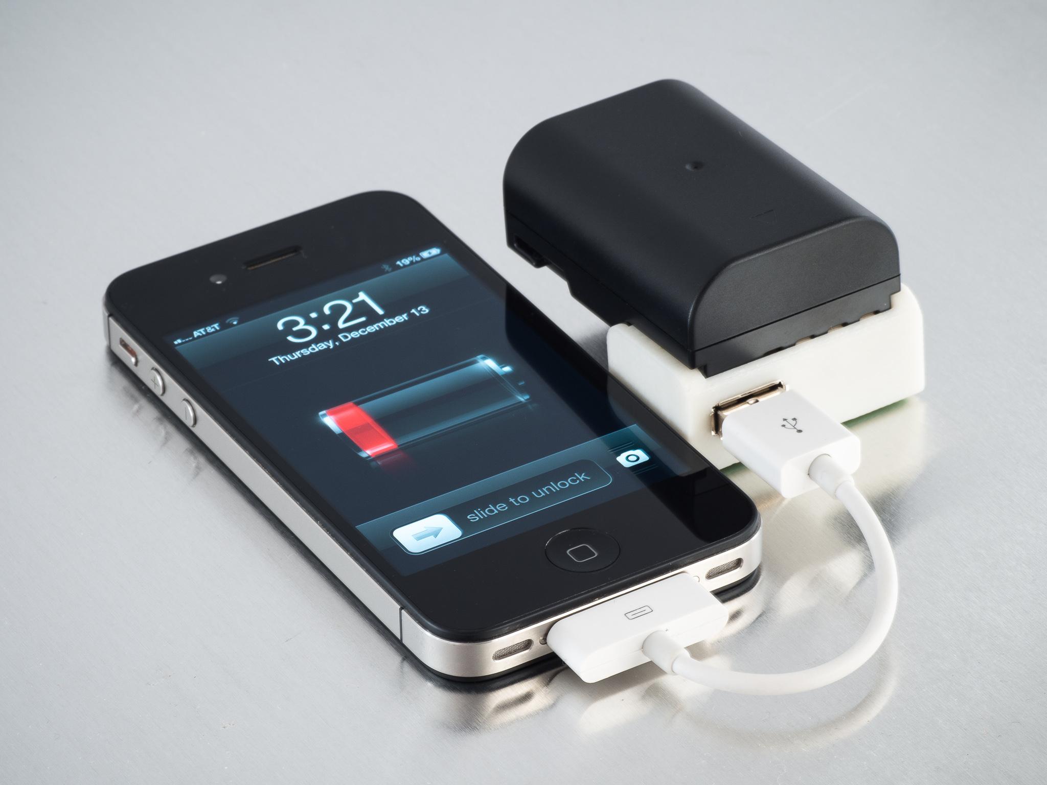 IMGP9989.jpg Télécharger fichier STL gratuit Chargeur USB D-Li90 • Plan imprimable en 3D, WalterHsiao
