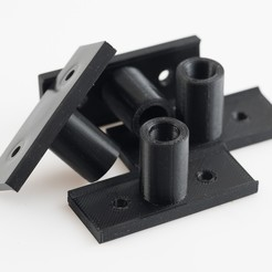 Download free 3D printing designs 8mm Rod Holders (RigidBot), WalterHsiao