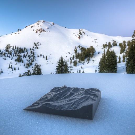 Descargar archivos 3D gratis Mapas del Parque Nacional Volcánico Lassen, WalterHsiao