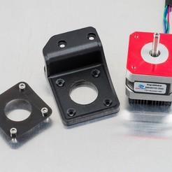 Descargar modelo 3D gratis Montaje del motor desplazado (RigidBot), WalterHsiao