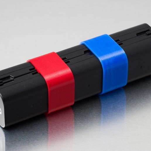 IMGP6816.jpg Télécharger fichier STL gratuit Tube de batterie D-Li90 • Plan pour impression 3D, WalterHsiao