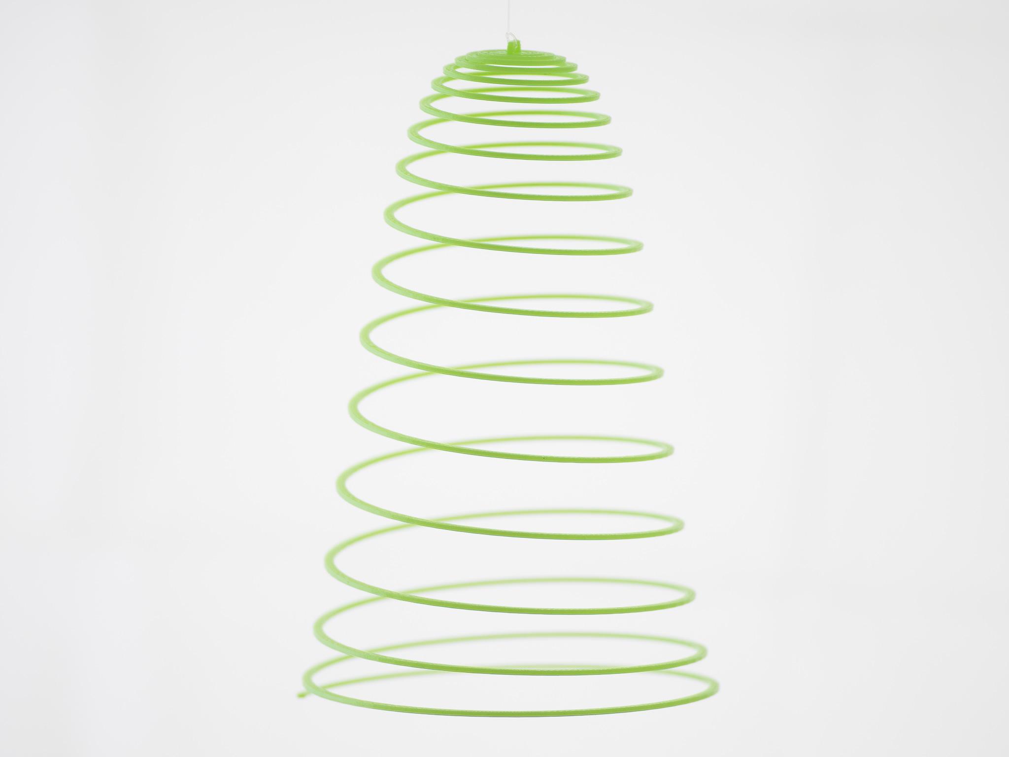 IMGP1575.jpg Download free SCAD file Customizable Hanging Spirals • Model to 3D print, WalterHsiao