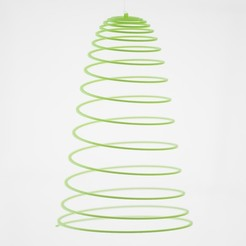 Download free 3D print files Customizable Hanging Spirals, WalterHsiao