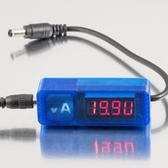 Télécharger fichier 3D gratuit Voltmètre / Ampèremètre - 3, WalterHsiao
