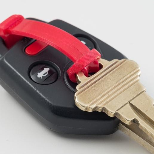 IMGP9491.jpg Download free STL file Keyring Strap • 3D printable model, WalterHsiao