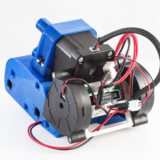 IMGP0334.jpg Télécharger fichier STL gratuit Montage de l'extrudeuse à réservoir (RigidBot, E3Dv6, Printrbot Gear Head) • Plan imprimable en 3D, WalterHsiao