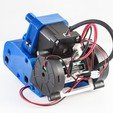 Download free 3D printing files Tank Extruder Mount (RigidBot, E3Dv6, Printrbot Gear Head), WalterHsiao