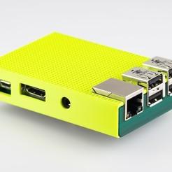 Télécharger plan imprimante 3D gatuit Coffret Pi 2 Framboise Framboise, WalterHsiao