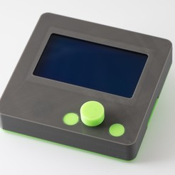 IMGP0088.jpg Download free STL file LCD Controller Case • 3D print object, WalterHsiao