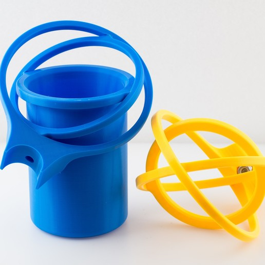 IMGP1053.jpg Download free STL file Crutch Cup and Can Holder • 3D printable design, WalterHsiao