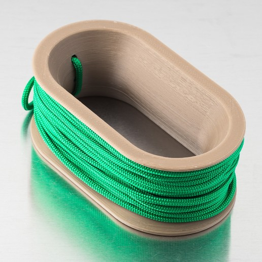 Download free 3D printing templates Rope Spool / Handle, WalterHsiao