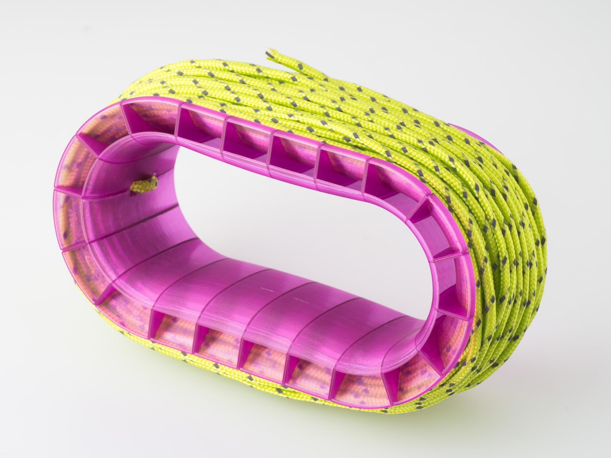 IMGP5634.jpg Download free STL file Paracord Vase Spool • 3D print model, WalterHsiao
