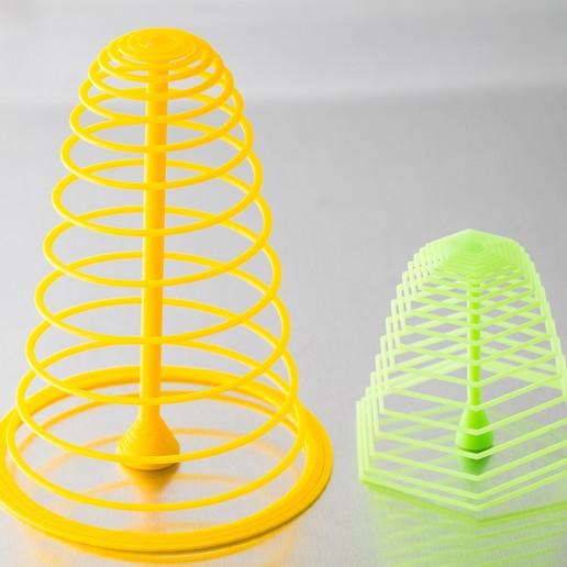 IMGP1597.jpg Download free SCAD file Customizable Spiral Tree • Design to 3D print, WalterHsiao