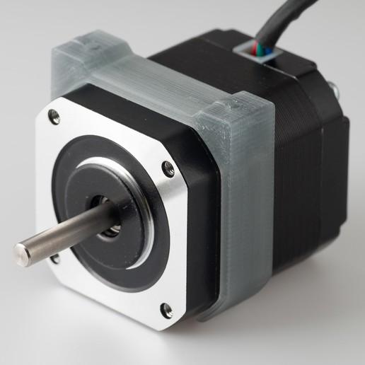 Download free 3D printer designs Nema 17 Clip-on PCB mount, WalterHsiao