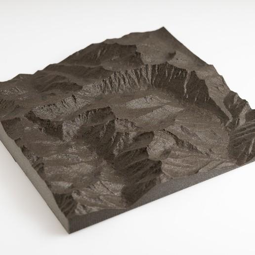 Télécharger modèle 3D gratuit Trinity Alpes (cartes), WalterHsiao