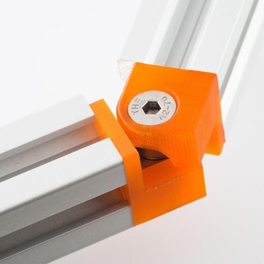 IMGP3362.jpg Download free STL file 2020 Hinge Corner • 3D printable design, WalterHsiao
