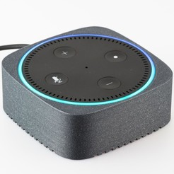 Download free 3D printer model Magnetic Cover for Echo Dot, WalterHsiao