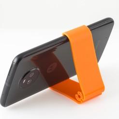 Descargar archivos 3D gratis Soporte para teléfono con clip, WalterHsiao