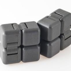 Descargar archivos STL gratis Cubo Magnético Fidget, WalterHsiao
