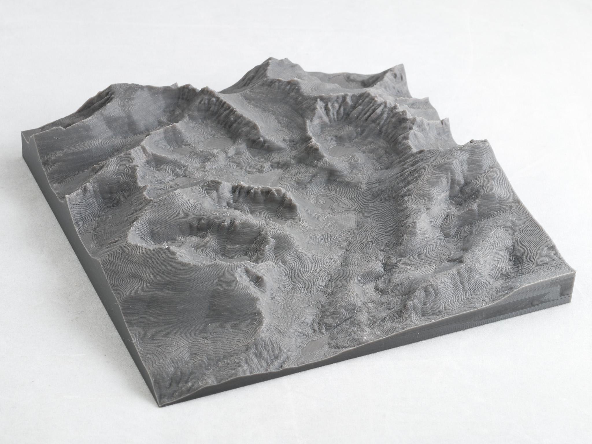 IMGP9842.jpg Télécharger fichier STL gratuit Cartes du parc Sequoia et King's Canyon • Objet pour impression 3D, WalterHsiao