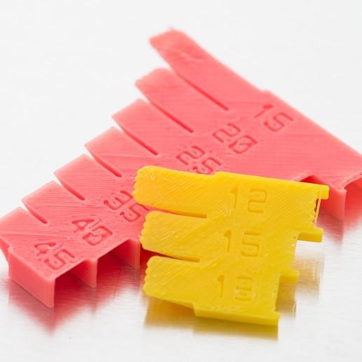 Descargar Modelos 3D para imprimir gratis Impresión de prueba de voladizo (personalizable), WalterHsiao