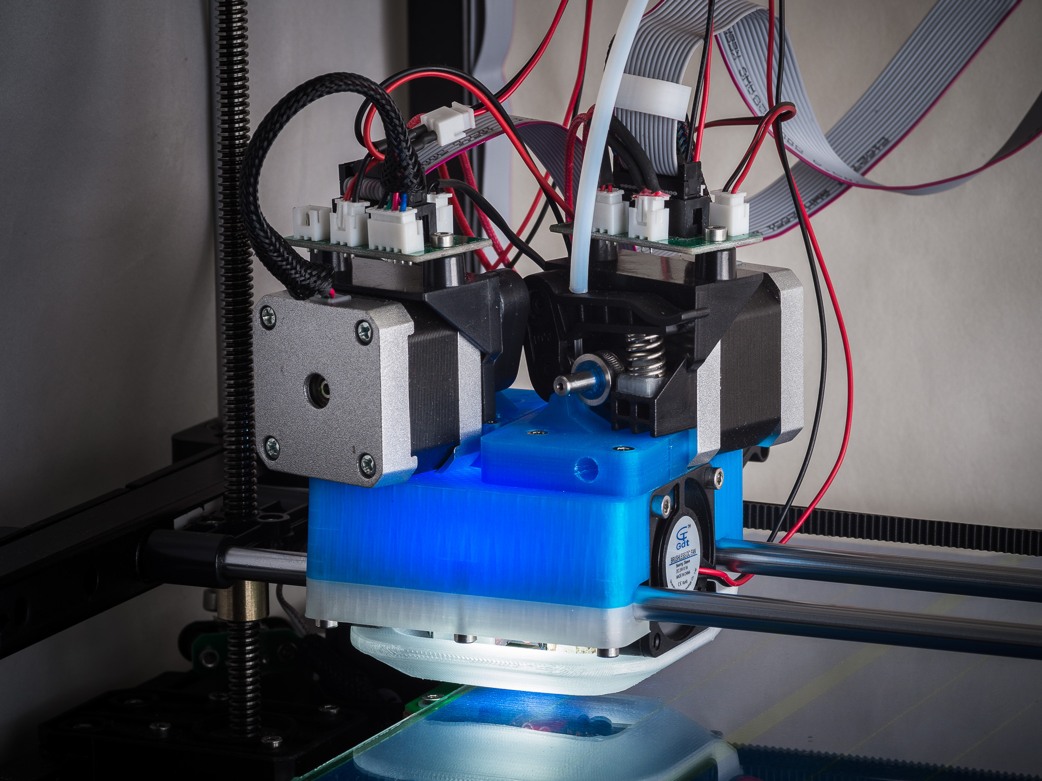 IMGP0010.jpg Download free STL file Jellyfish Mount (RigidBot Dual E3Dv6) • 3D printer object, WalterHsiao