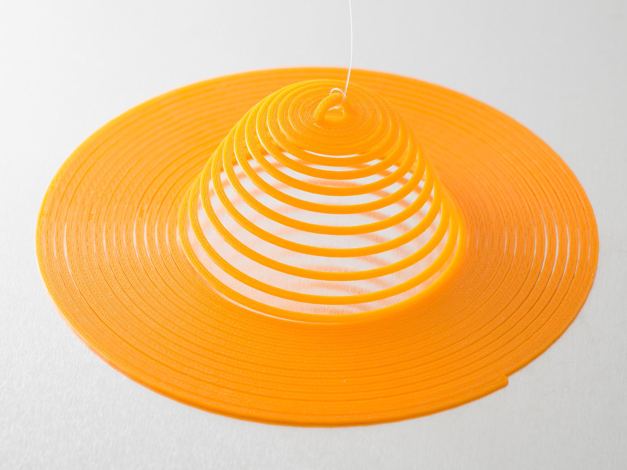 IMGP1581.jpg Download free SCAD file Customizable Hanging Spirals • Model to 3D print, WalterHsiao