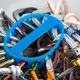Download free 3D printer files Carabiner Rack, WalterHsiao